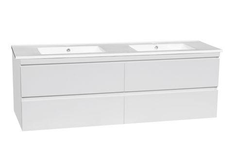 DM1500 Gloss White WH Vanity