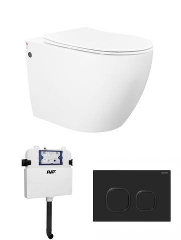Voghera Wall Face Pan Slim Seat with R&T System