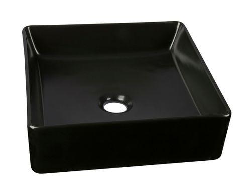 Cubix Matt Black Basin 360x360