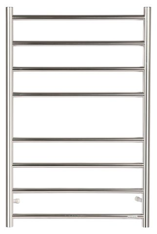 Heated Towel Rail 8 Bar Rnd CH
