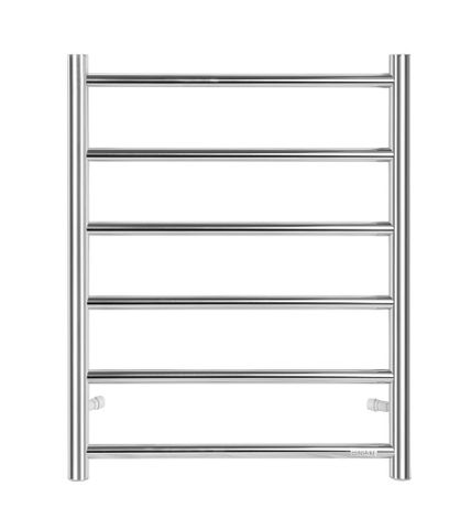 Heated Towel Rail 6 Bar Rnd CH