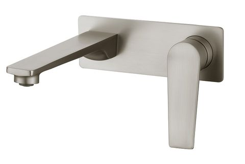 Zevio Wall Basin Mixer BN