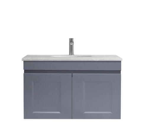 Hampton Matte Grey Vanity 600mm