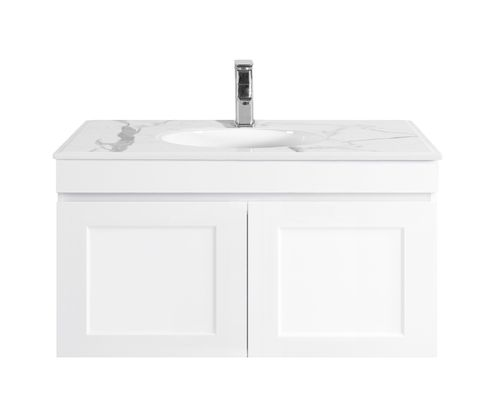 Hampton Matte White Vanity 750mm