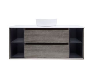 Amazon Grey w/Shelves n ST1200