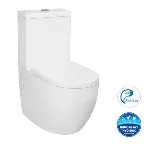 Deluso Rimless Toilet Set