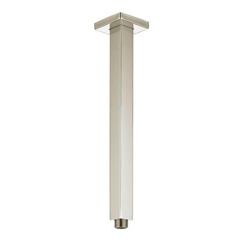 Tarran Ceiling Shower Arm 300mm Brush Nickel