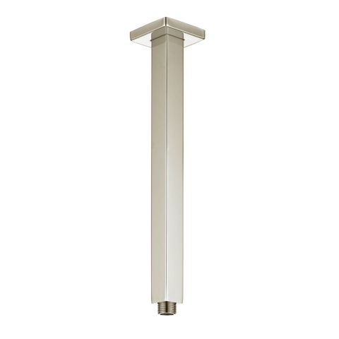 Tarran Ceiling Shower Arm 300mm Brush Nickel