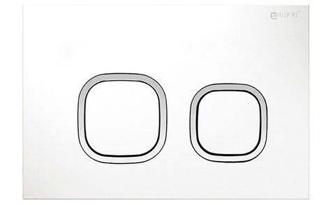 Soft SQ Push Plate Matte White