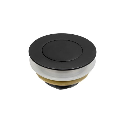 Black Bathtub Waste 40mm