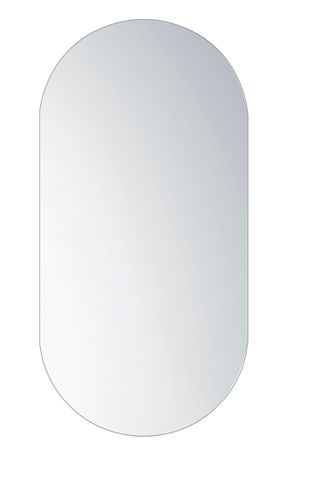 Pencil Edge Oval Shape Mirror