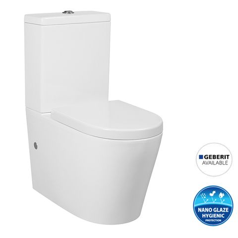 Alzano Box Rim Toilet Suite