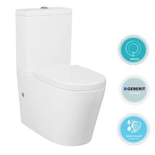 Alzano Rimless Toilet STD Seat