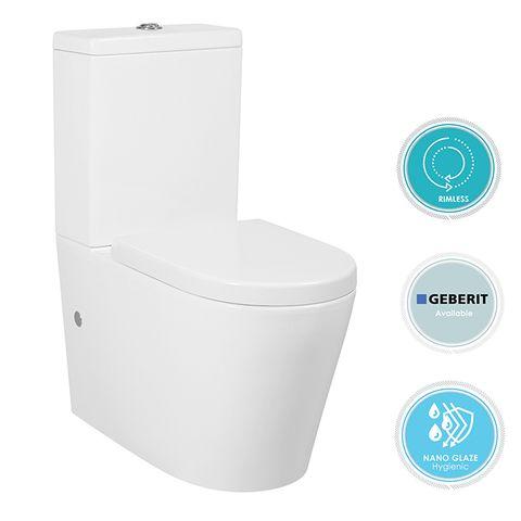 Alzano Rimless Toilet Suite