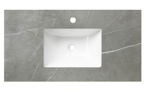 600 Stone Grey  UM with Basin