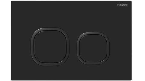 Soft SQ Push Plate Full Black