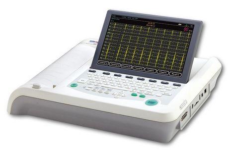 ECG MAC EM-1201 12 CHANNEL