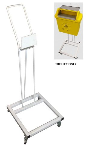 TROLLEY EZ COLLECT SHARPS CONTAINERS