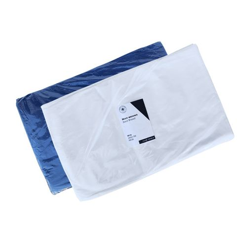 BED SHEET NON WOVEN WHITE 2400 x 700MM