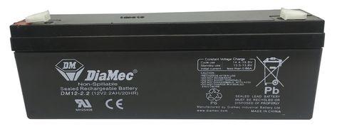 BATTERY ECG CARDIOLINE AR2100 ADV
