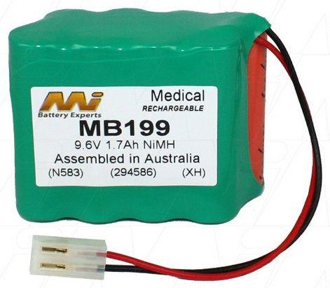 BATTERY ECG CARDIOLINE AR600