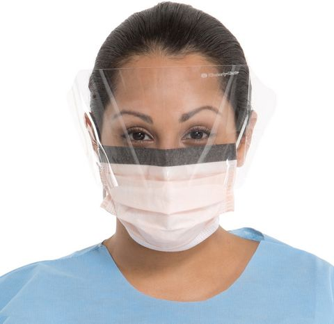 FACEMASK FLUIDSHIELD WITH VISOR