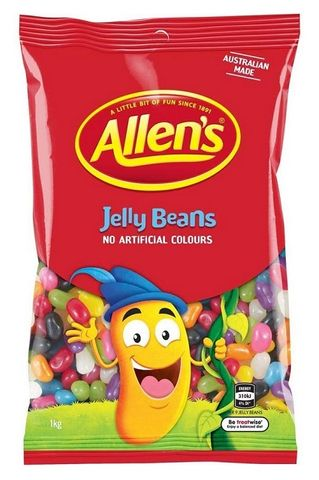 JELLY BEANS MIXED ALLENS 1KG