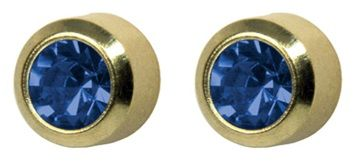 EAR STUD REGULAR SAPPHIRE SEPTEMBER