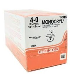 ETHICON MONOCRYL SUTURE