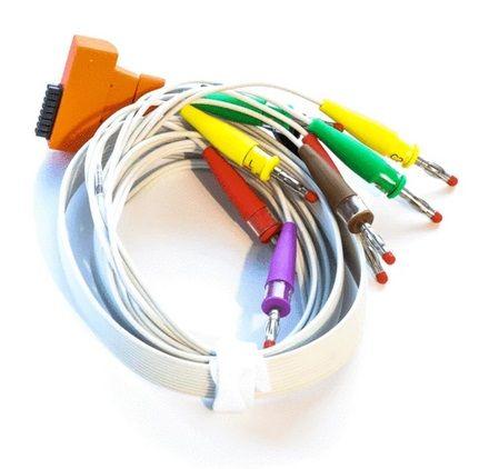 CABLE ECG 10W PLUG CARDIOLINE TOUCH IEC