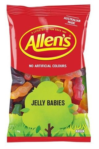 JELLY BABIES MIXED ALLENS 1.3KG