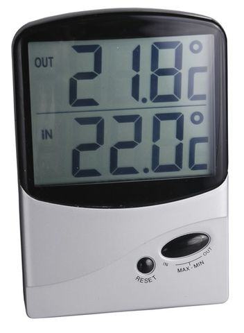THERMOMETER DIGITAL IN/OUT DUA