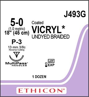 ETHICON VICRYL SUTURE