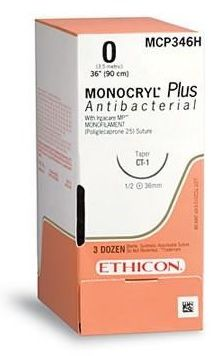 ETHICON MONOCRYL PLUS SUTURE