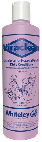 VIRACLEAN 500ML SQUEEZE