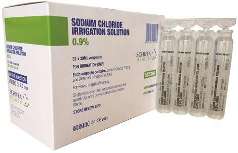 IRRIGATION AMPULE SODIUM CHLORIDE.9%30ML