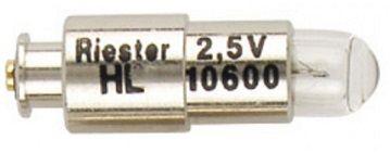 BULB 11860 2.5V HALOGEN RIESTER