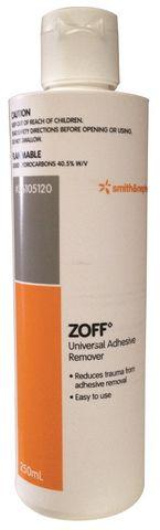 ZOFF ADHESIVE REMOVER LIQUID 250ML