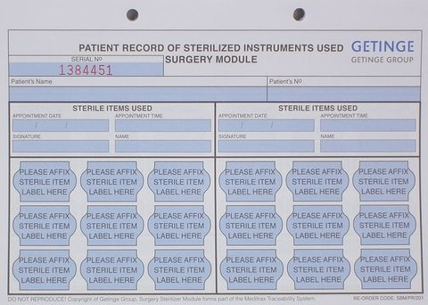 PATIENT RECORD SHEET