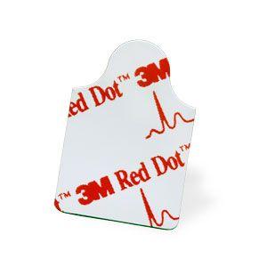 ELECTRODE ECG RED DOT RESTING 3M