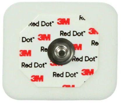 ELECTRODE ECG RED DOT FOAM 3M