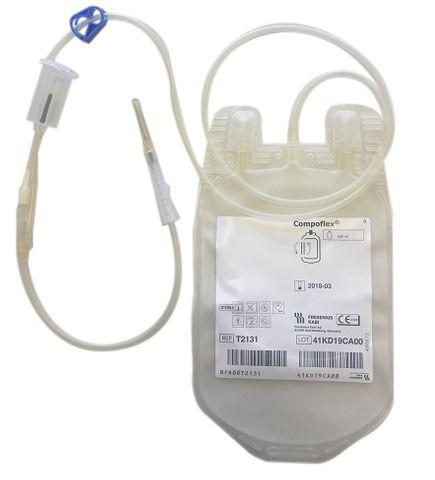 BLOOD BAG FENWAL DRY PACK 600ML