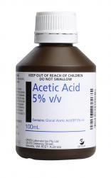ACETIC ACID 5% 100ML