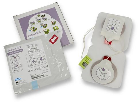 DEFIB PADS PAEDIATRIC FOR ZOLL AED+