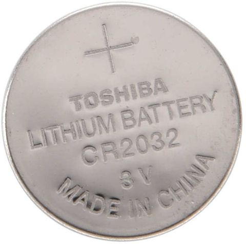 TOSHIBA LITHIUM BATTERY CR2032