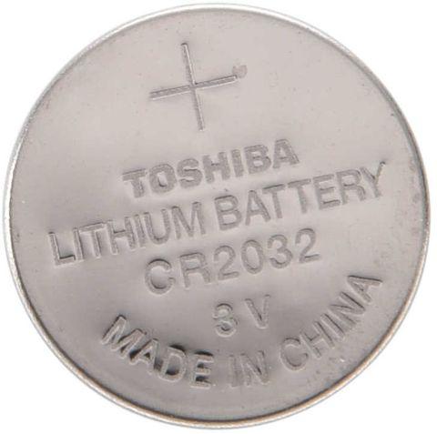 BATTERY LITHIUM TOSHIBA CR2032