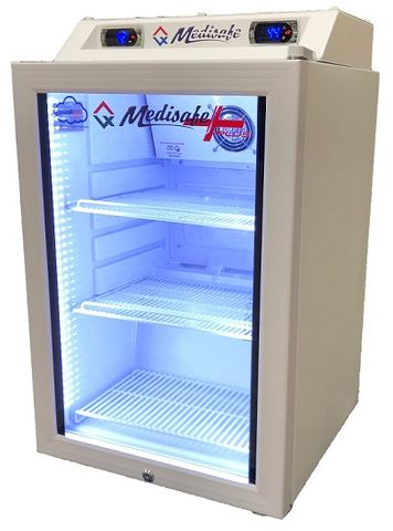 FRIDGE 80L MEDISAFE VACCINE - CLOUD