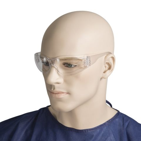 SAFETY GLASSES W/CLEAR LENS