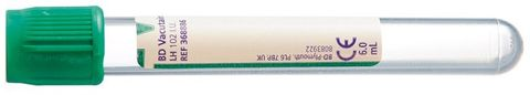 TUBE LITHIUM HEPARIN 13MM x 100MM 6ML