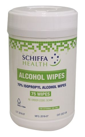 WIPES ALCOHOL SCHIFFA (SCS302)
